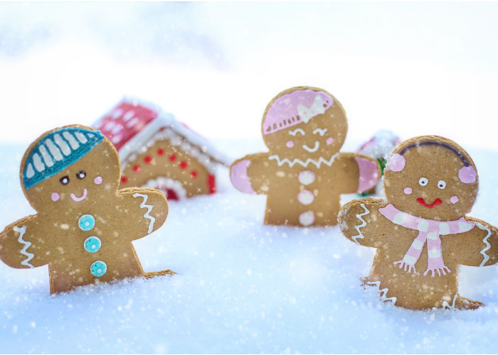tooth friendly gingerbread cookies